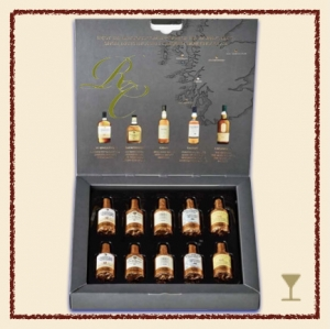 Anthon Berg Single Malts Scotch Collection 10er